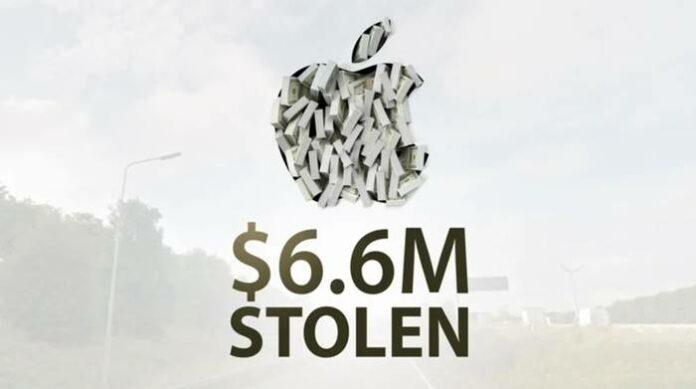 Pencuri Apple Dirampok