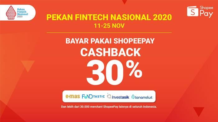 Pekan Fintech Nasional Cashback ShopeePay