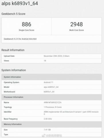 Prosesor MediaTek 6nm Terbaru