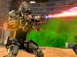 Robot Tentara Inggris