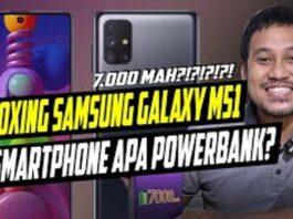 Samsung Galaxy M51 Unboxing