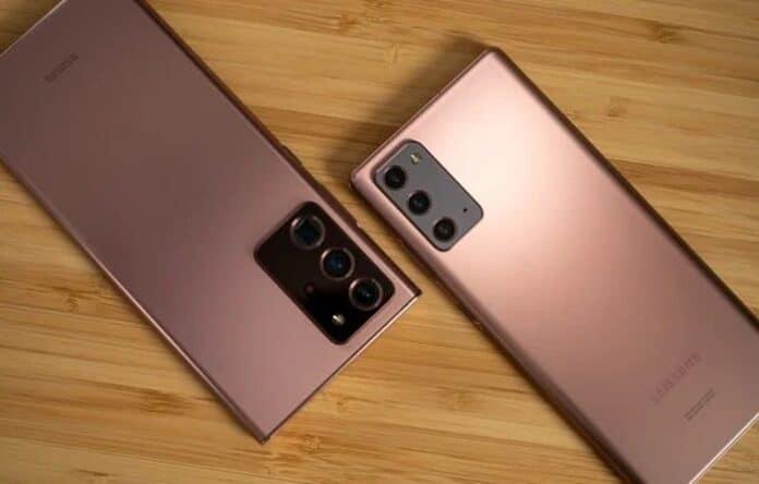 Kamera Samsung Galaxy Note 20