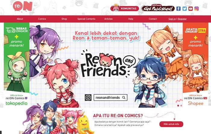 Situs Manga Anime Terbaik