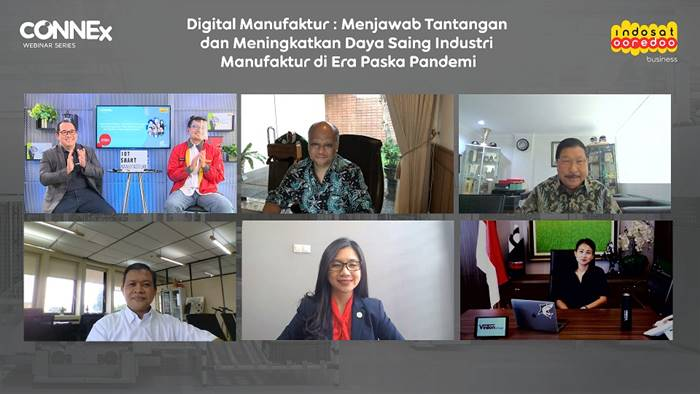 Indosat Ooredoo bernama IoT Smart Manufacturing