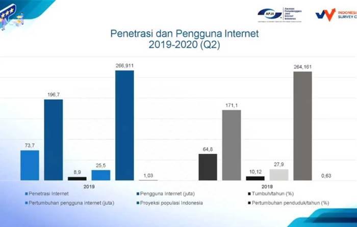 Survei APJII Pengguna Internet Indonesia