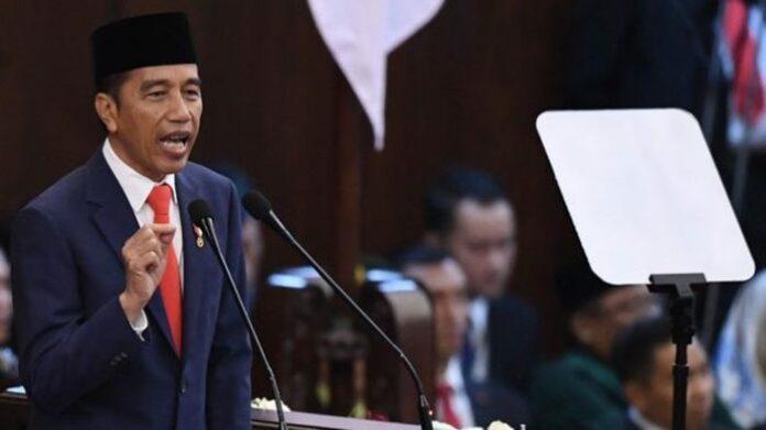 Presiden Jokowi UU Cipta Kerja