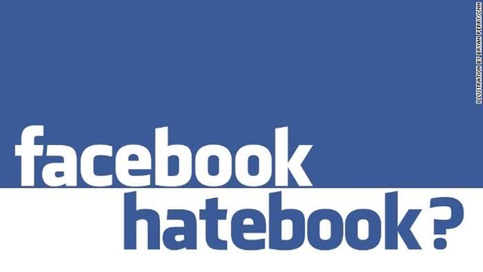 10 dari 10.000 Konten di Facebook Adalah Ujaran Kebencian