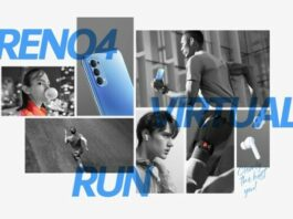 pemenang Oppo reno4 virtual run