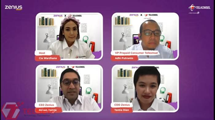 Zenius dan Telkomsel Berikan Beasiswa Pendidikan kepada 96 Siswa