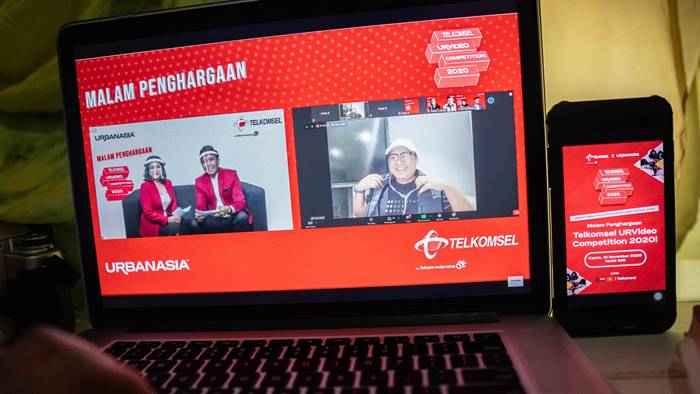 Telkomsel Umumkan Pemenang Urvideo Competition 2020