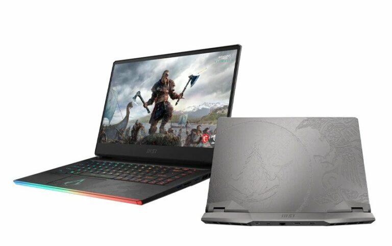 MSI Luncurkan Laptop Gaming Edisi Assassins's Creed Valhalla