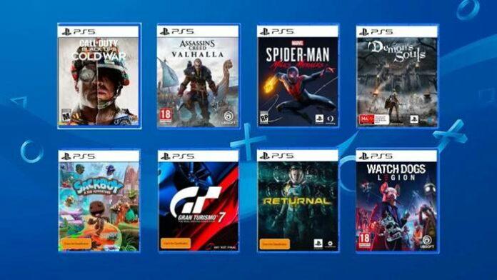 Harga Game PS5