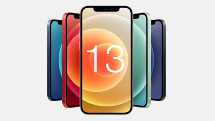 iPhone 13 Touch ID Layar