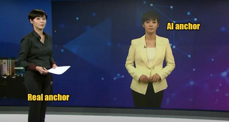 Pembaca Berita di Televisi Korea Selatan Pakai Presenter AI