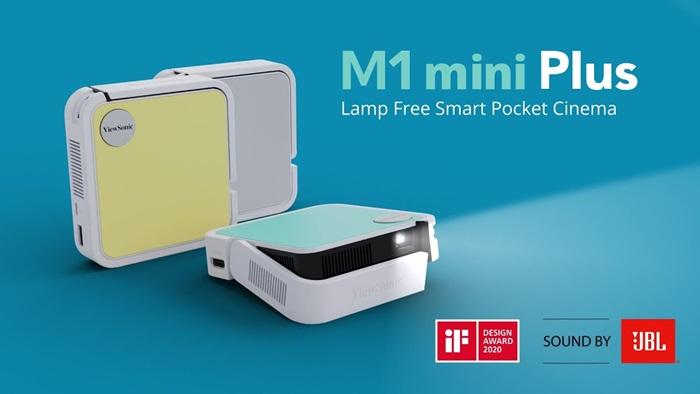 Proyektor mini portable ViewSonic M1 mini plus