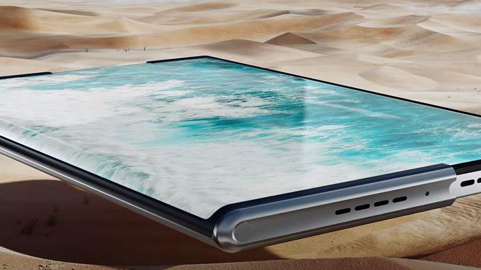 Oppo X 2021 Smartphone Layar Gulung