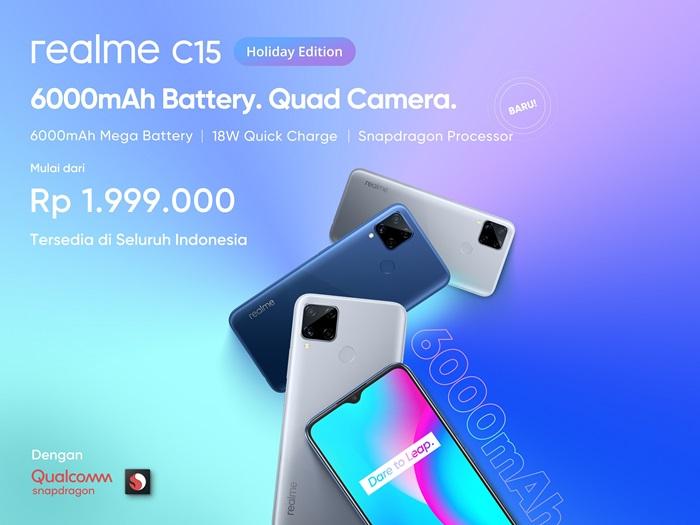 Realme C15 Holiday Edition
