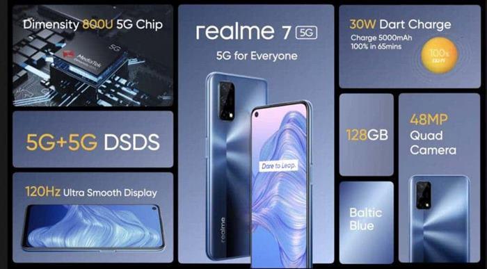 Spesifikasi Realme 7 5G