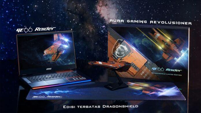 Laptop Gaming MSI GE66 Dragonshield