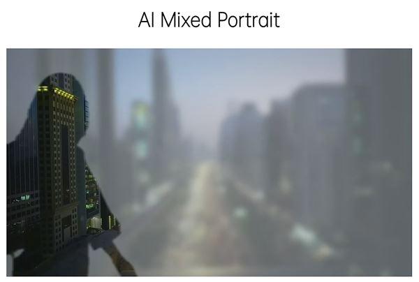 Fitur AI Mixed Portrait Oppo Reno5