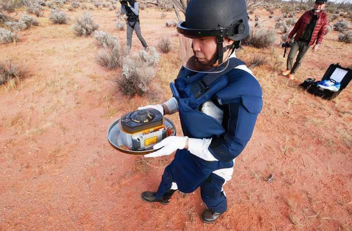 Kapsul Pembawa Asteroid Mendarat di Pedalaman Australia