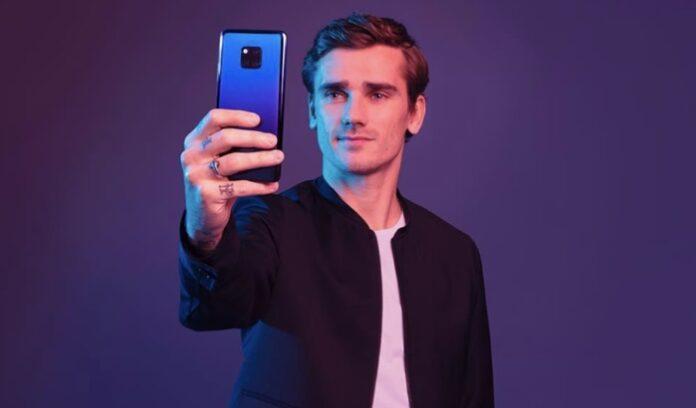 Antoine Griezmann Huawei