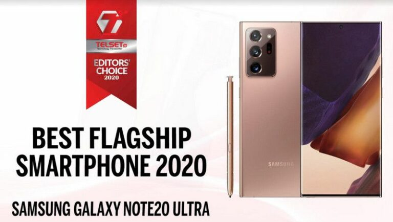 Telset Editor's Choice 2020: Best Flagship Smartphone