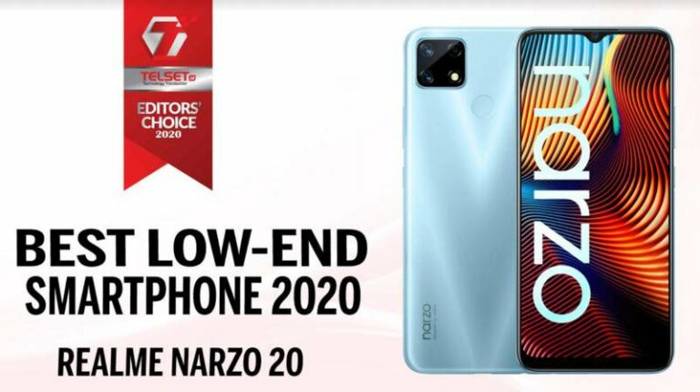 Telset Editor's Choice 2020: Best Low-end Smartphone