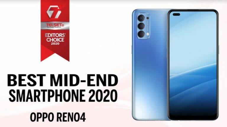 Telset Editor's Choice 2020: Best Mid-End Smartphone