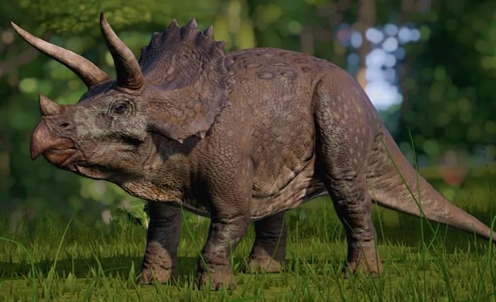Viral! Video Dinosaurus Triceratops Muncul di Magetan