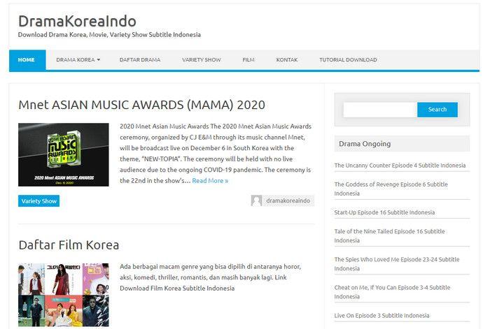 DramaKoreaIndo - nonton drama korea