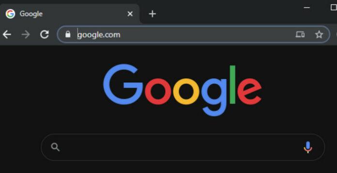 Google Desktop Dark Mode