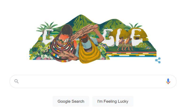 Noken Papua Google Doodle