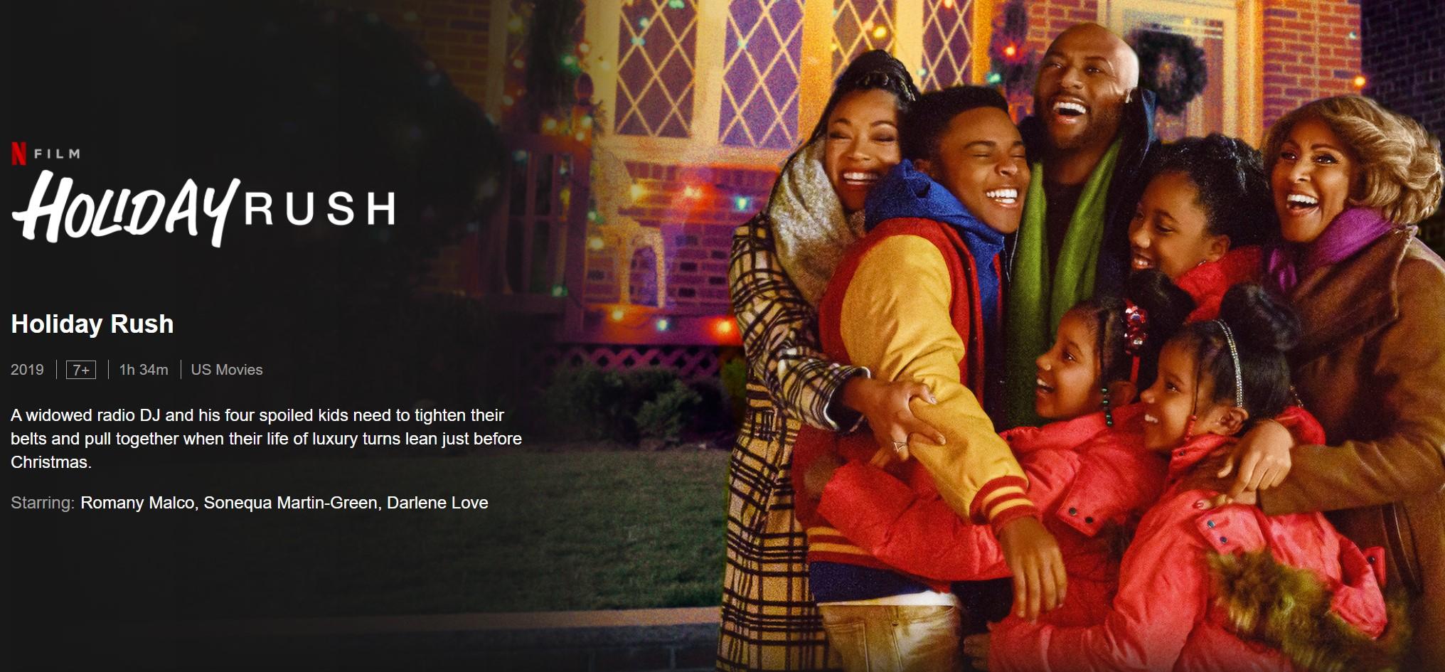 Film Natal Netflix