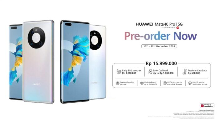 Harga Huawei Mate 40 Pro Indonesia
