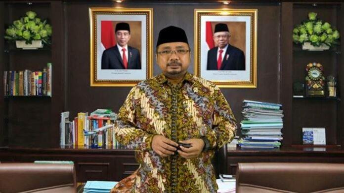 Menteri Agama Baru Yaqut Cholil Qoumas ucapkan natal 2020