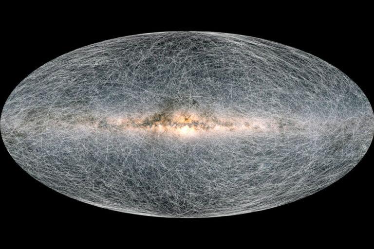 Penampakan Peta 3D Galaksi Bima Sakti yang Dirilis ESA