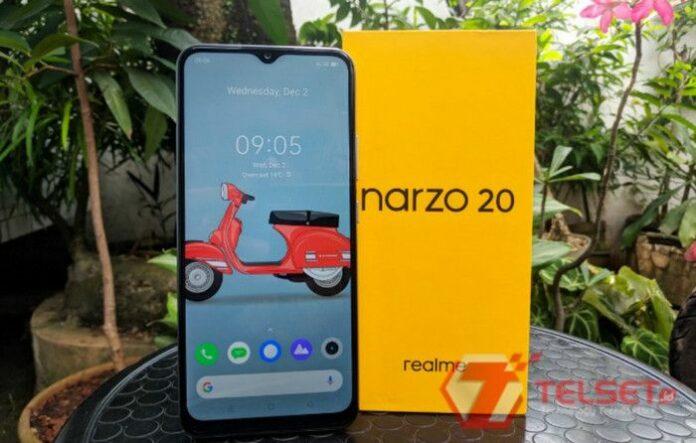review Realme Narzo 20