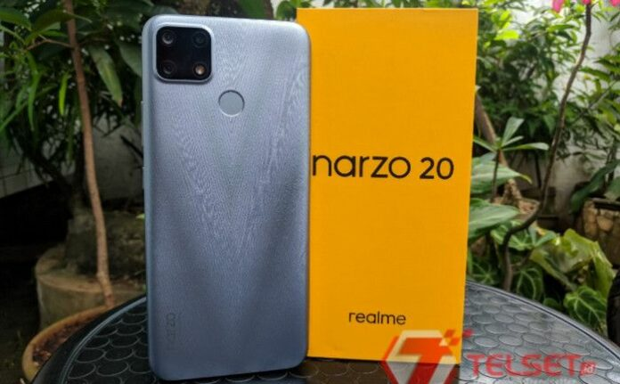 Realme Narzo 20 update Android 11