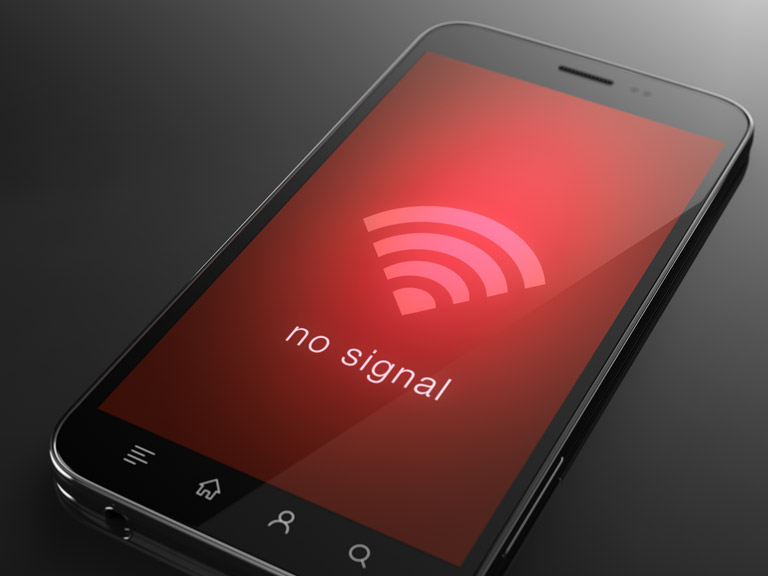 Penyebab sinyal HP Hilang