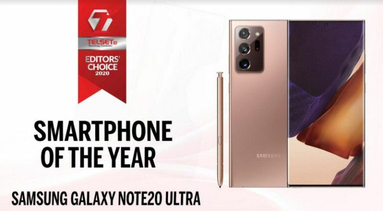 Telset Editor's Choice 2020: Smartphone of The Year
