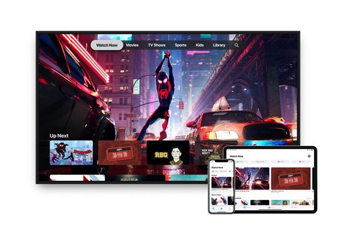 Aplikasi apple tv di sony smart tv