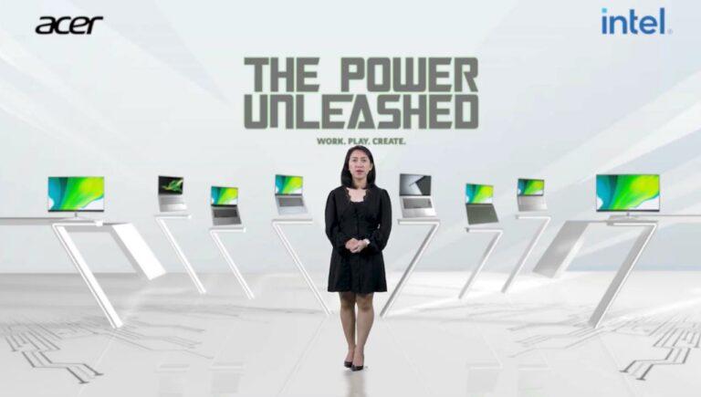 Acer Luncurkan Jajaran Laptop Terbaru Bertenaga Intel Core Gen 11