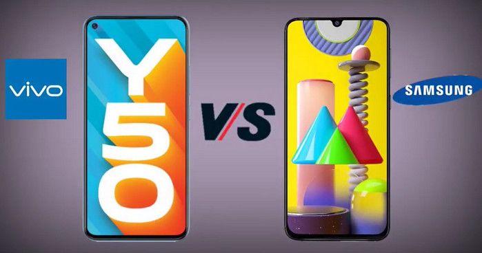 Vivo Y50 Galaxy M31