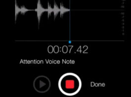 Voice Note FPI