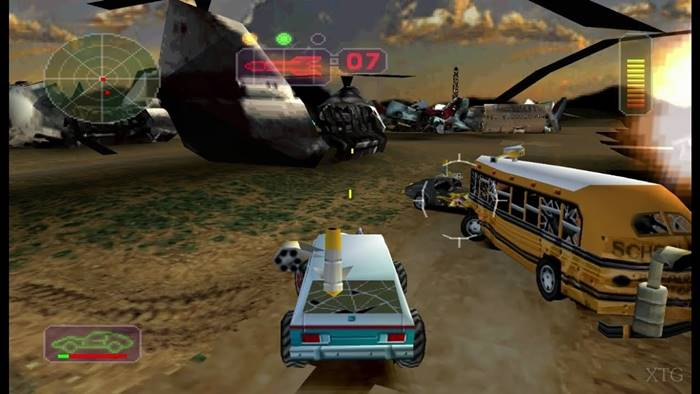 Game PlayStation 1 terbaik Vigilante 8