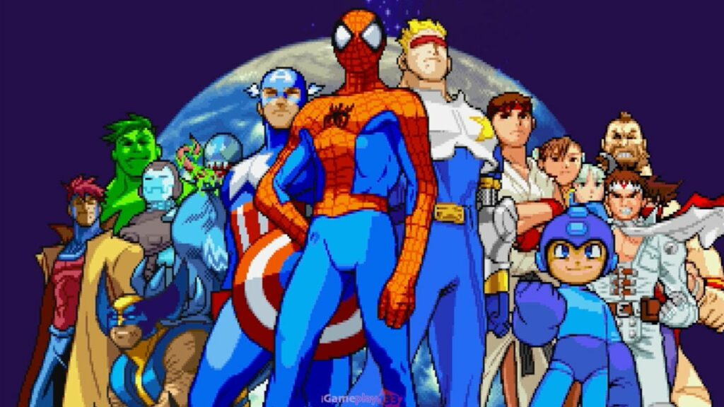 Game PlayStation 1 terbaik Marvel vs Capcom
