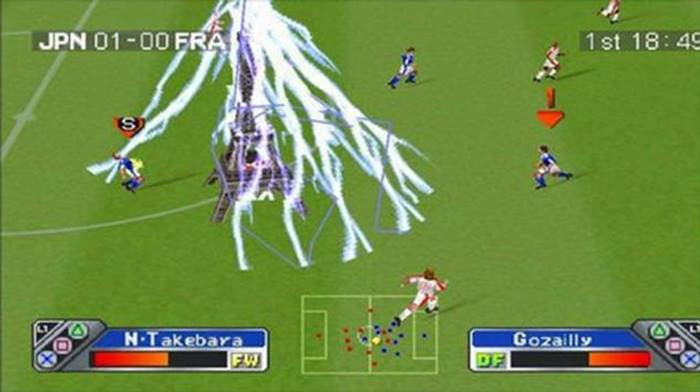 Game PlayStation 1 terbaik Super Shoot Soccer