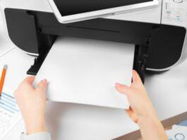cara sharing printer windows