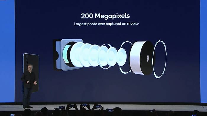 Ilustrasi Kamera 200 MP